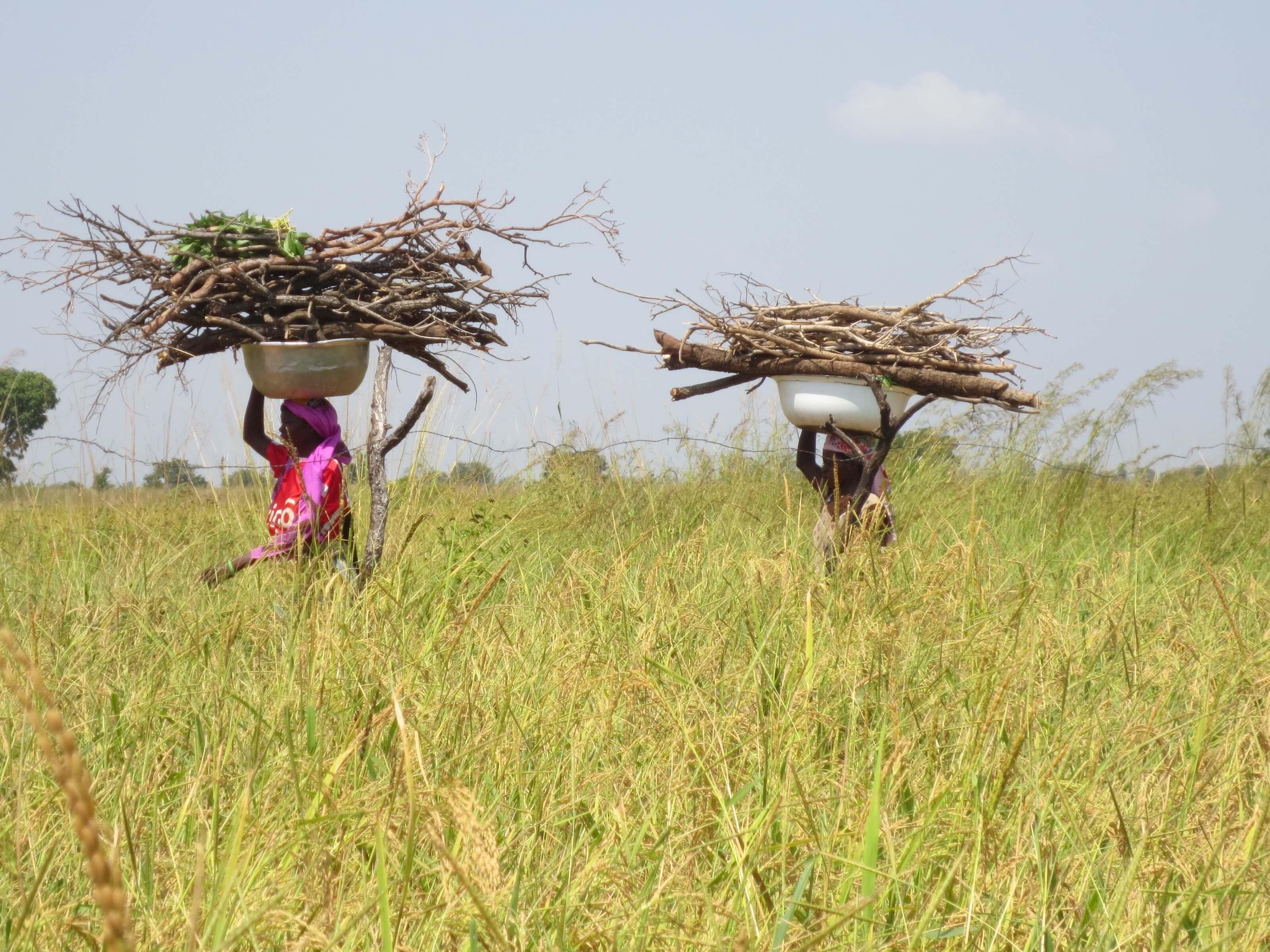 Zwei afrikanische Frauen
